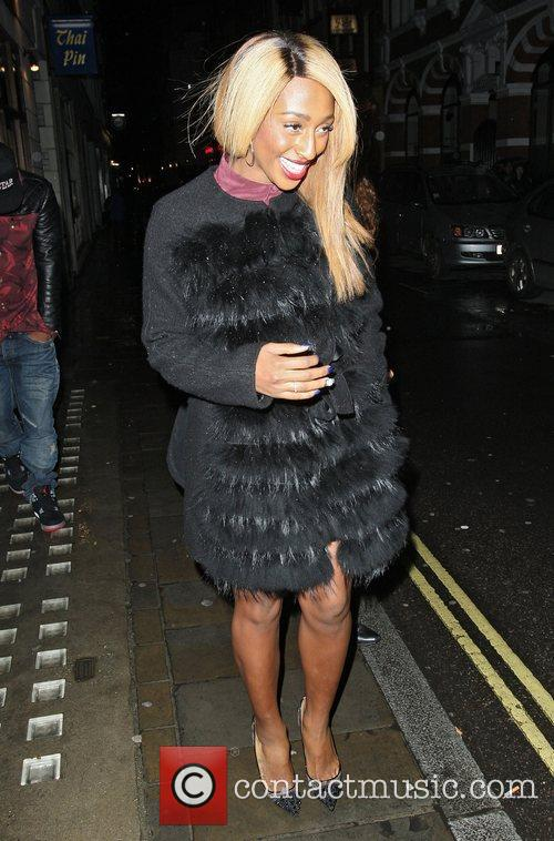 Alexandra Burke and Covent Garden 2