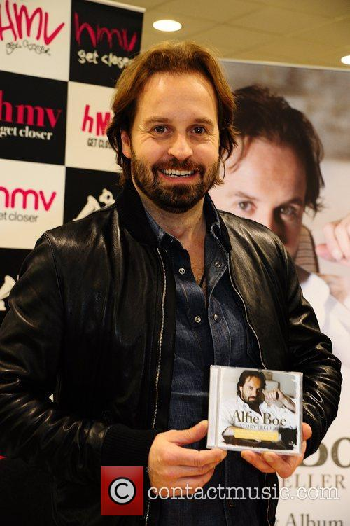 Tenor Alfie Boe Signs Copies Of His New Album
