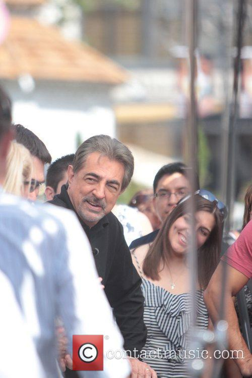 Joe Mantegna Celebrities at The Grove to appear...