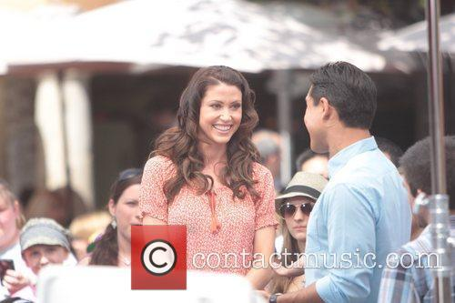 Shannon Elizabeth Celebrities at The Grove to appear...