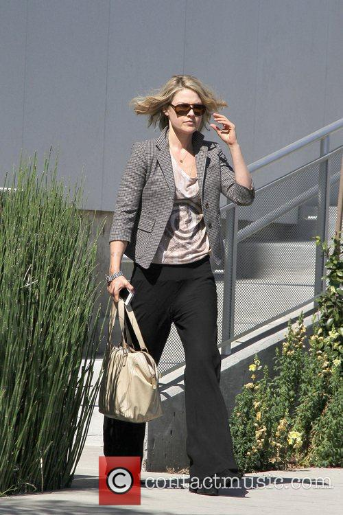 Ali Larter leaving a meeting Los Angeles, California