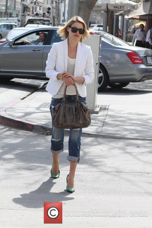Actress Ali Larter seen out and about Los...