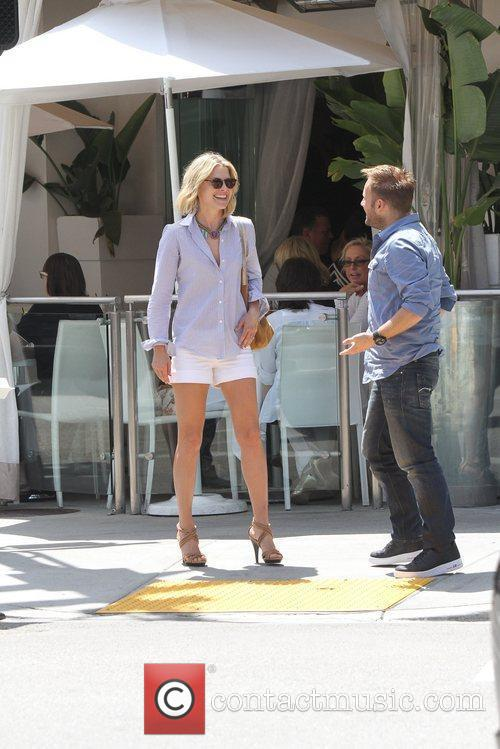Actress Ali Larter  seen with a male...