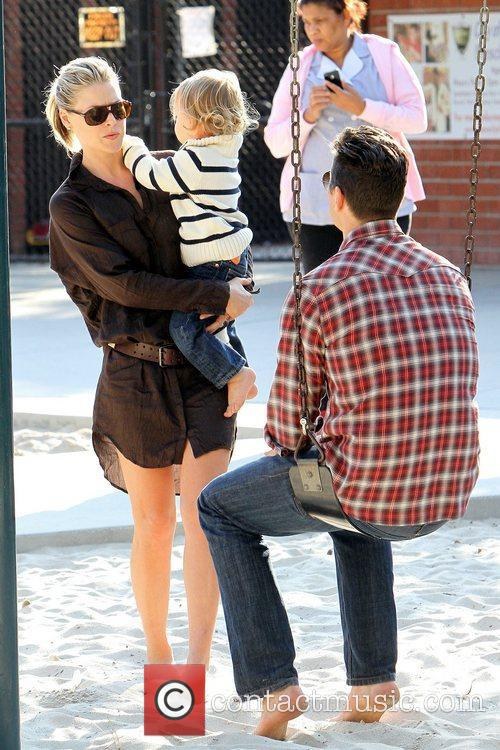 Ali Larter, Hayes Macarthur and Theodore Macarthur 10