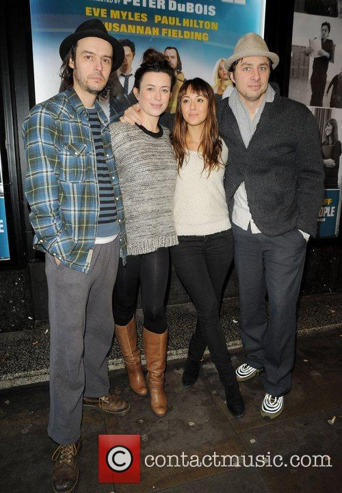 Zach Braff and Guests attend a Photocall for...