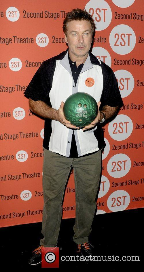 Alec Baldwin  attends the Second Stage Theatre's...