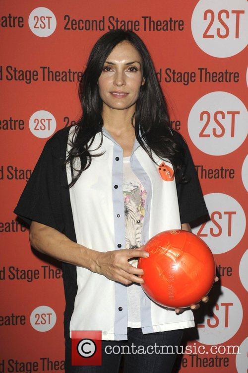 Famke Janssen  attends the Second Stage Theatre's...