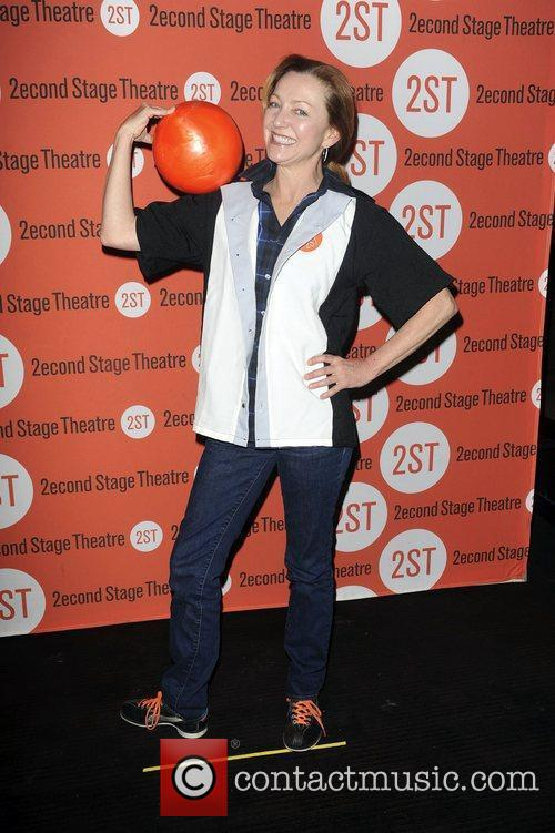 Guest  attends the Second Stage Theatre's 25th...