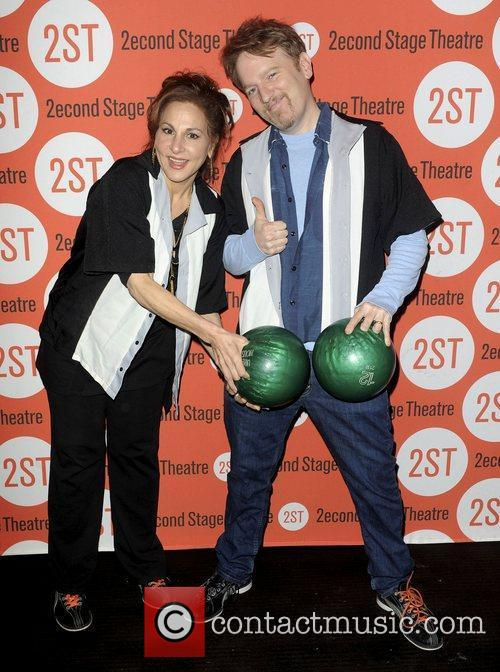 Kathy Najimy and Dan Finnerty  attends the...