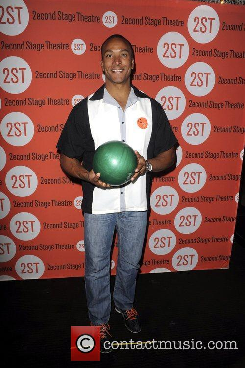 Mike Woods  attends the Second Stage Theatre's...