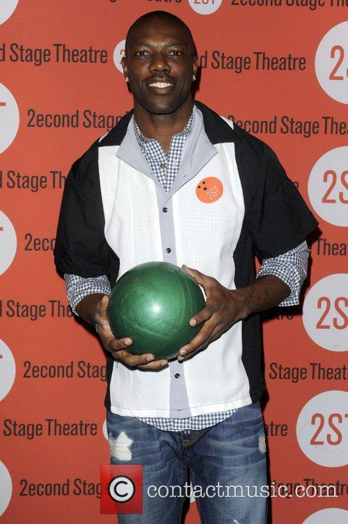 Terrell Owens  attends the Second Stage Theatre's...