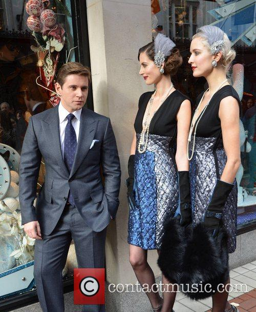 Allen Leech, Isabelle Traber and Teodora Sutra 3