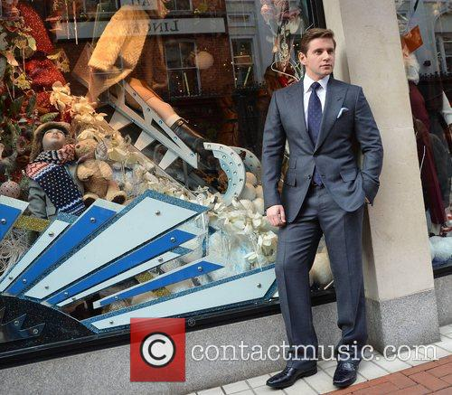 Allen Leech, Christmas and Brown Thomas 5