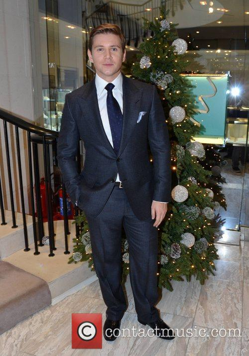Allen Leech, Christmas and Brown Thomas 4
