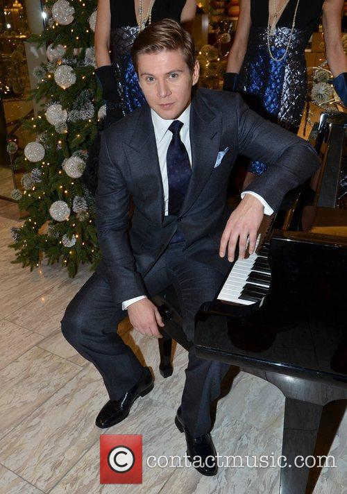 Allen Leech, Christmas and Brown Thomas 2