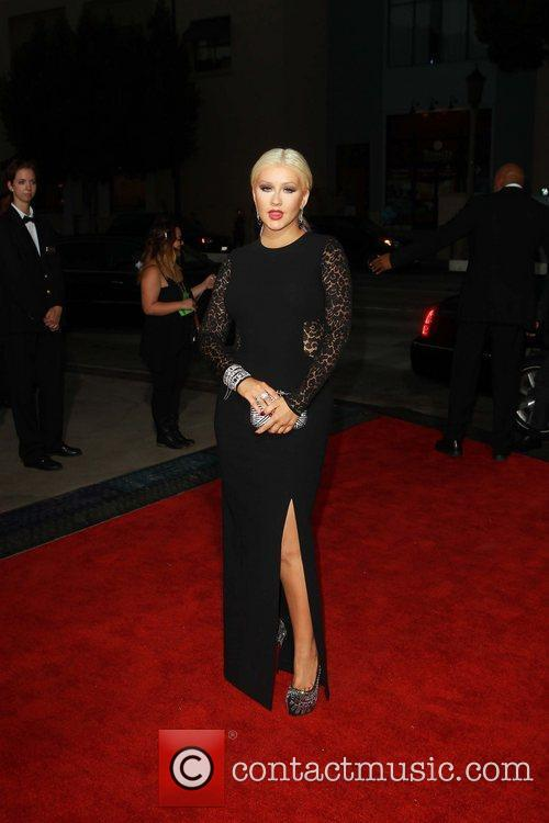 Christina Aguilera 2012 NCLR ALMA Awards, held at...