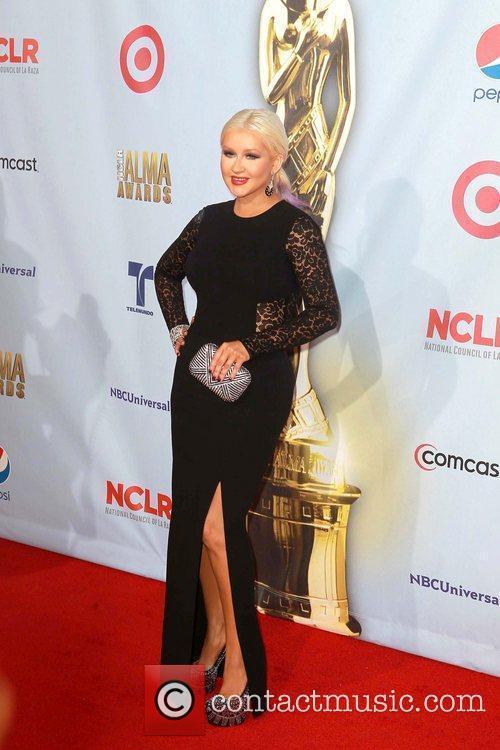 christina aguilera 2012 nclr alma awards held 5914234