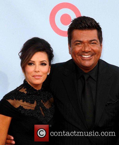 Eva Longoria and George Lopez 2