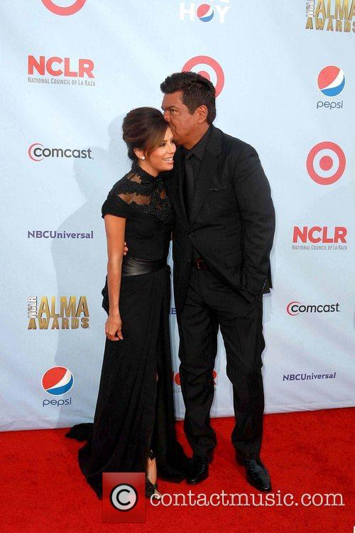 Eva Longoria and George Lopez 4