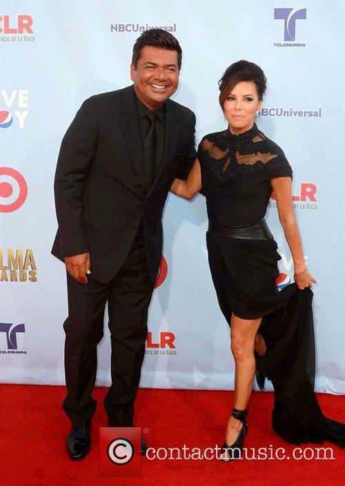 Eva Longoria and George Lopez 6