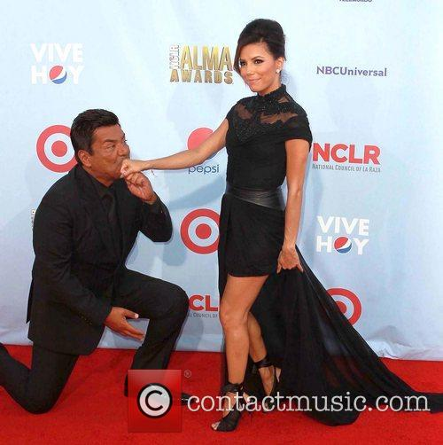 Eva Longoria and George Lopez 7