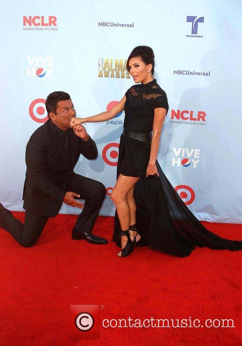 Eva Longoria and George Lopez 8