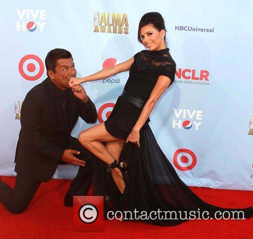 Eva Longoria and George Lopez 9
