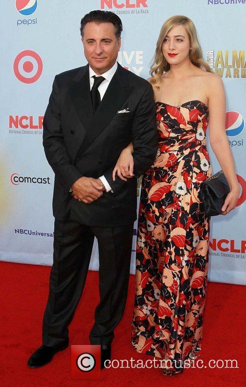Andy Garcia his daughter, Dominik Garcia-Lorido  2012...