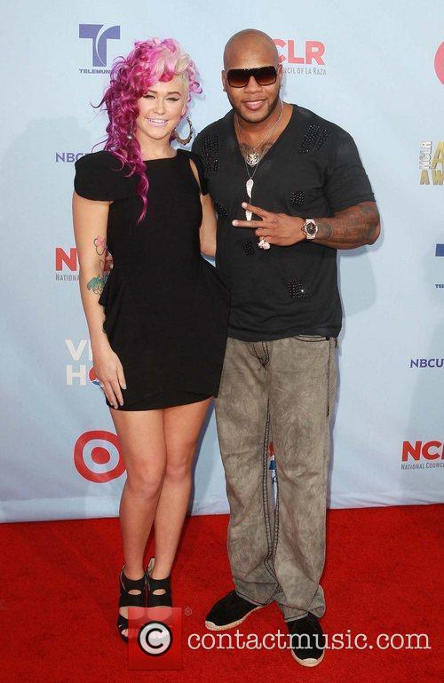 Flo Rida and Alma Awards 2