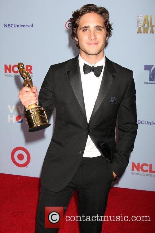 Diego Boneta 2012 NCLR ALMA Awards, held at...