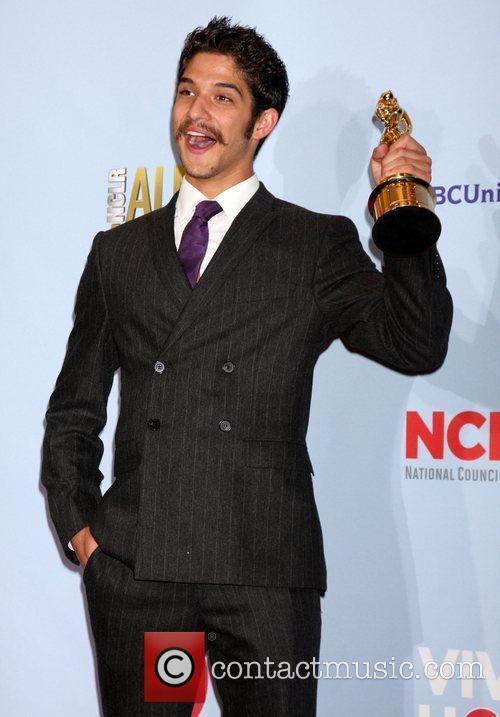 Tyler Posey and Alma Awards 2