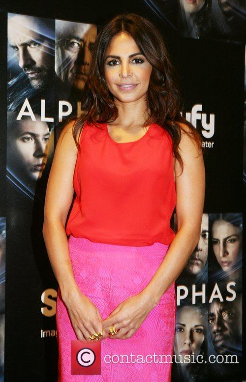Attends 'Alphas' photocall at The Grand Hotel