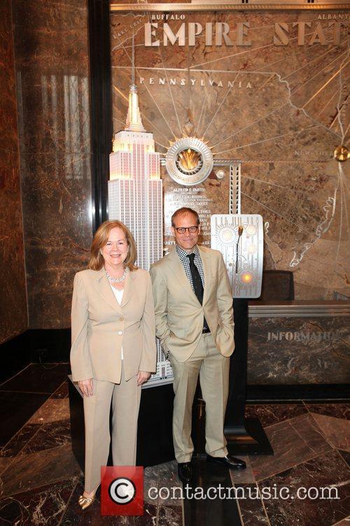 Susan Ungaro, Alton Brown  Empire State Building...