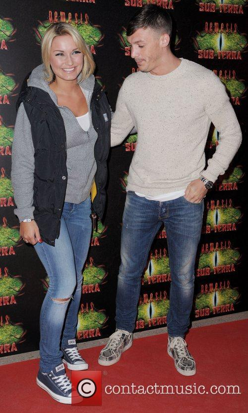 Sam Faiers and Kirk Norcross 2
