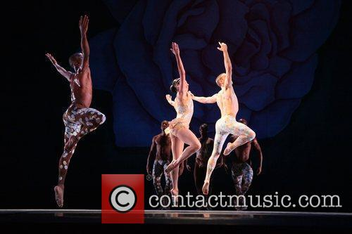 'Arden Court' dress rehearsal held at Alvin Ailey...