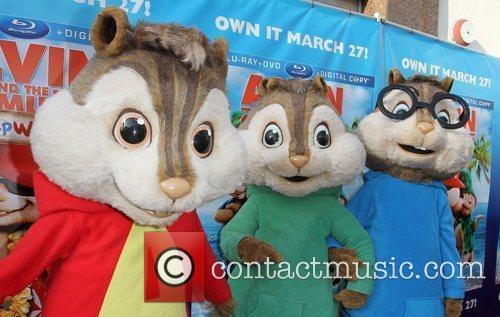 Alvin & The Chipmunks and El Rey Theatre 2