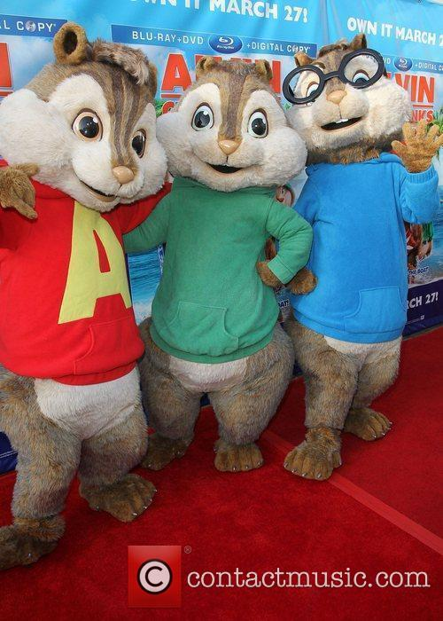 Alvin & The Chipmunks and El Rey Theatre 4