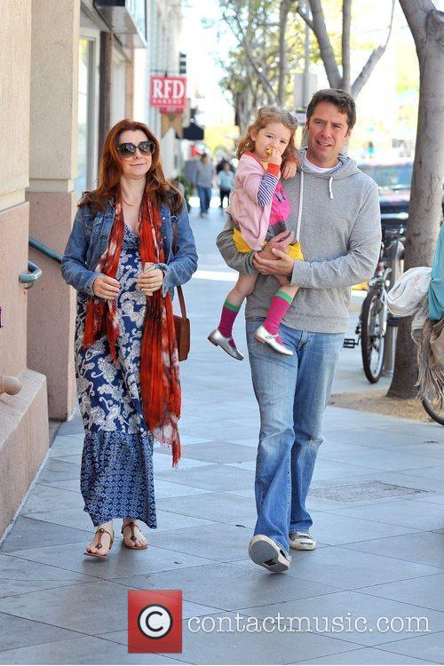 pregnant actress alyson hannigan and husband alexis 5819451