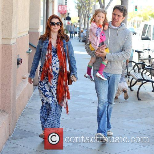 Alyson Hannigan and Alexis Denisof 1