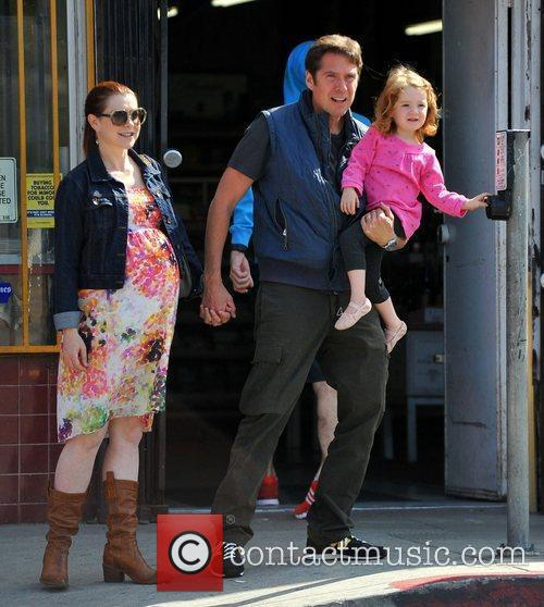 Alyson Hannigan and Alexis Denisof 10