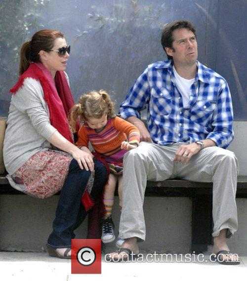 Alyson Hannigan and Alexis Denisof 2