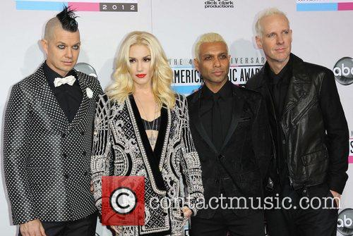 Adrian Young, Gwen Stefani, Tony Kanal, Tom Dumant and No Doubt 2