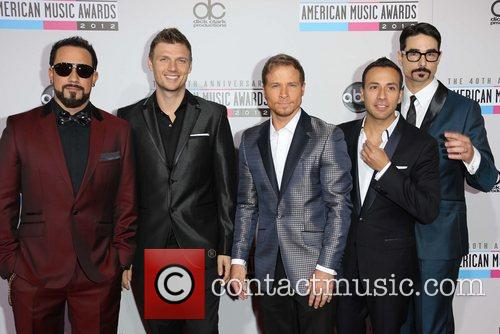 Nick Carter, Brian Littrell, Howie Dorough, Kevin Richardson and Backstreet Boys 2