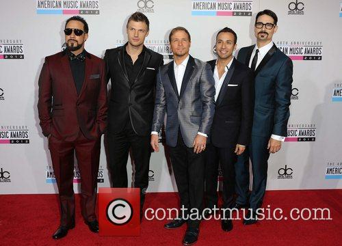 Nick Carter, Brian Littrell, Howie Dorough, Kevin Richardson and Backstreet Boys 3
