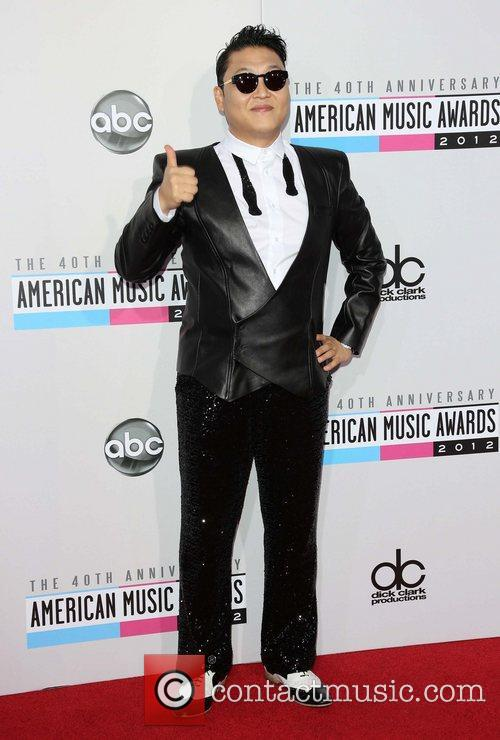 PSY  The 40th Anniversary American Music Awards...