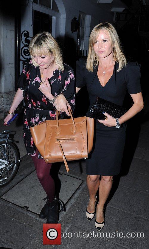 Amanda Holden leaves Little House Restaurant in Mayfair...