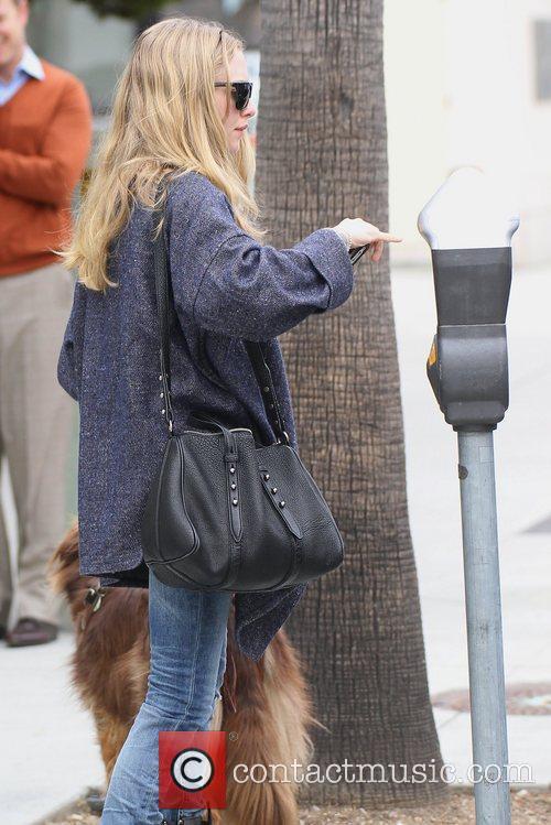 amanda seyfried seen walking her dog los 5830020