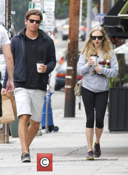 Amanda Seyfried out and about in Los Feliz....