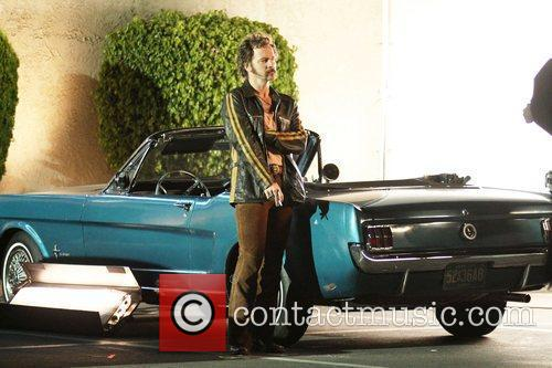 Peter Sarsgaard seen on the set of 'Lovelace'...