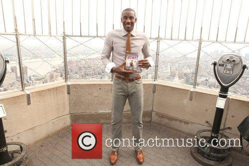 Amar'e Stoudemire promotes his new book ' STAT:...